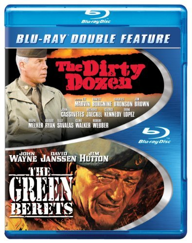 Dirty Dozen Green Berets Double Feature Blu Ray Ws Nr