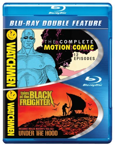 Watchmen Complete Motion Comic Tales Of The Black Freighter Blu Ray Ws Nr