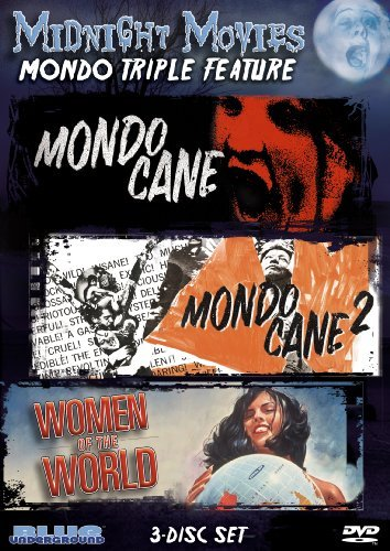 Vol. 11 Mondo Triple Feature Midnight Movies Nr 3 DVD