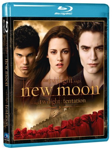Twilight New Moon Pattinson Stewart Blu Ray Pg13 Ws