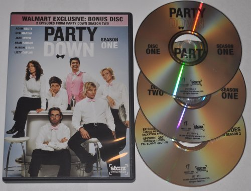 Party Down Season 1 3 Disc Special Edition