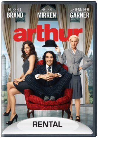 Arthur (2011) Brand Mirren Gerwig Rental Version