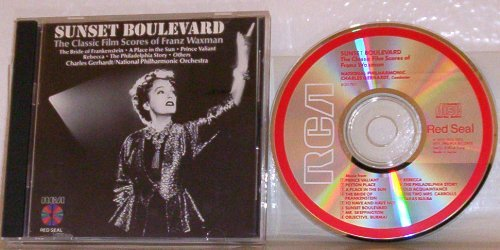 Waxman Franz Sunset Boulevard The Classic Film Scores Of Franz