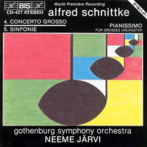 A. Schnittke Sym 5 Pianissimo Large Orch Jarvi Gothenburg So