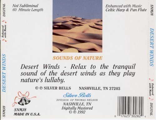 Desert Winds Nature's Relaxing Sounds