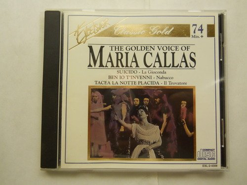 Maria Callas Golden Voice Of Maria Callas