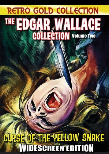 Edgar Wallace Collection Volume 2 Curse Of The Yellow Snakes Nr