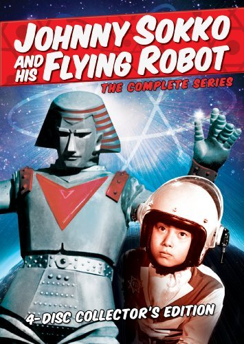 Johnny Sokko & His Flying Robot Complete Series Nr 4 DVD