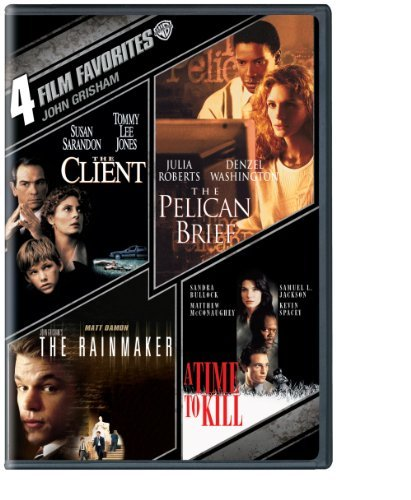 John Grisham 4 Film Favorites Nr