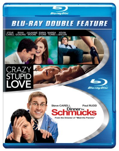 Crazy Stupid Love Dinner For Schmucks Double Feature Blu Ray Ws Double Feature
