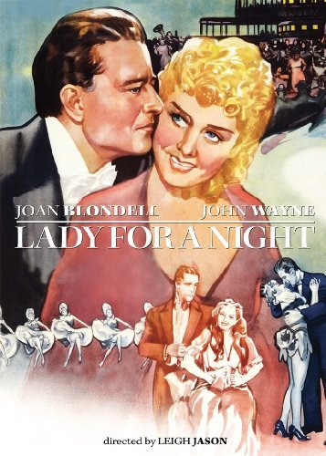 Lady For A Night (1942) Blondell Wayne Bw Nr
