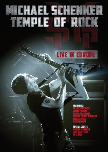 Michael Schenker Temple Of Rock Live In Europe Nr