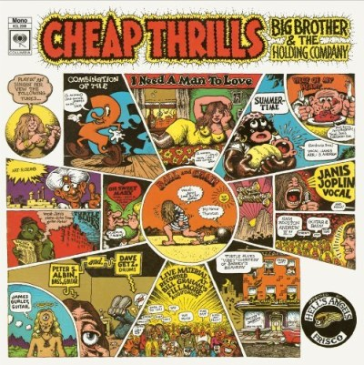 Big Brother & The Holding Company Cheap Thrills 180gm Vinyl Cheap Thrills