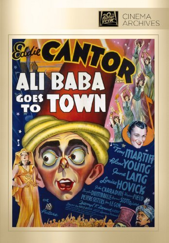 Ali Baba Goes To Town Cantor Martin DVD R Bw Nr