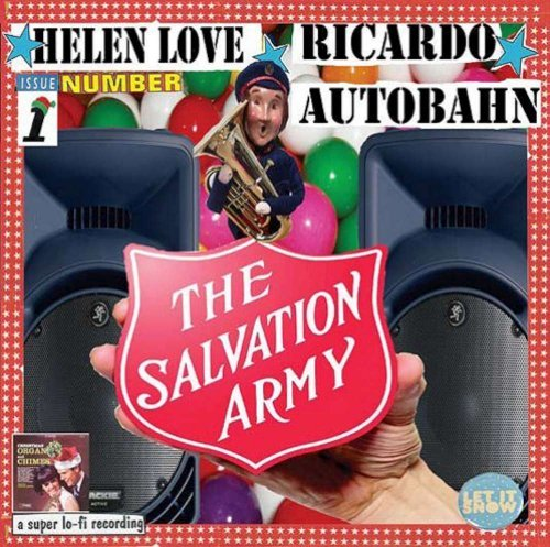 Helen & Ricardo Autobahn Love Salvation Army Band Plays 7 Inch Single