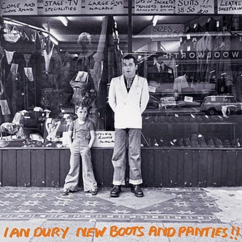 Ian Dury New Boots & Panties Orange Vinyl Lmtd Ed.