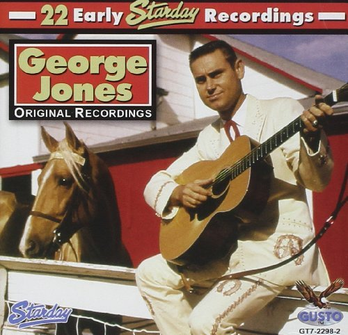 George Jones 22 Early Starday Recordings