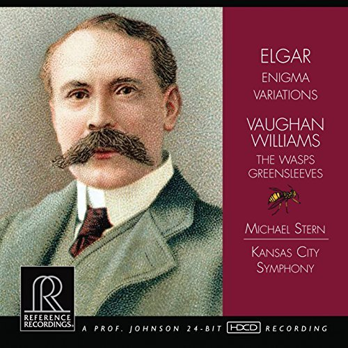 Elgar Williams Enigma Variations Wasps Greens Stern Kansas City So