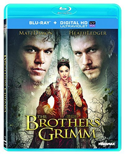 Brothers Grimm Damon Ledger Stormare Blu Ray Ws Pg13