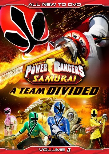 Power Rangers Samurai Vol. 3 A Team Divided Nr