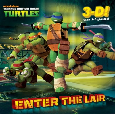 Golden Books Enter The Lair (teenage Mutant Ninja Turtles)