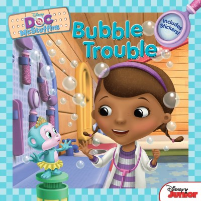 Sheila Sweeny Higginson Doc Mcstuffins Bubble Trouble Includes Stickers!