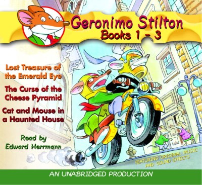 Geronimo Stilton Geronimo Stilton Books 1 3 #1 Lost Treasure Of The Emerald Eye; #2 The Cur