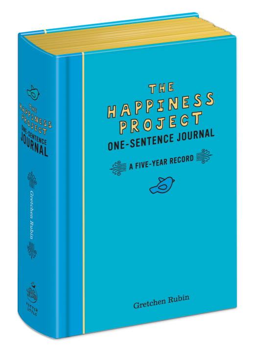 Gretchen Rubin The Happiness Project One Sentence Journal A Five Year Record