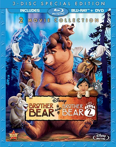 Brother Bear Brother Bear 2 Double Feature Blu Ray DVD G