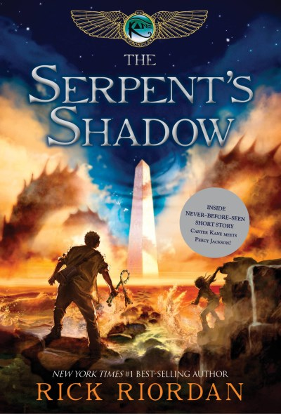 Rick Riordan Kane Chronicles The Book Three The Serpent's Shadow