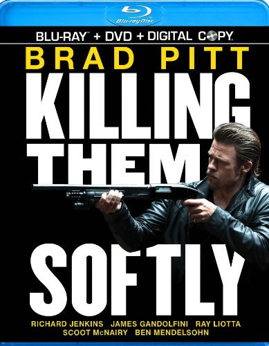 Killing Them Softly Pitt Gandolfini Liotta Blu Ray DVD Dc R Ws