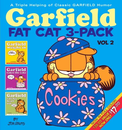Jim Davis Garfield Fat Cat 3 Pack #2 A Triple Helping Of Classic Garfield Humor