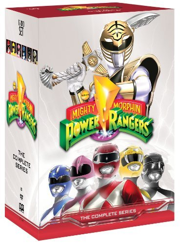 Mighty Morphin Power Rangers Complete Series Tvy7 19 DVD