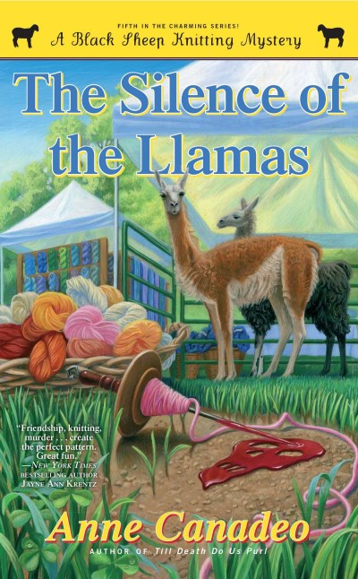 Anne Canadeo The Silence Of The Llamas