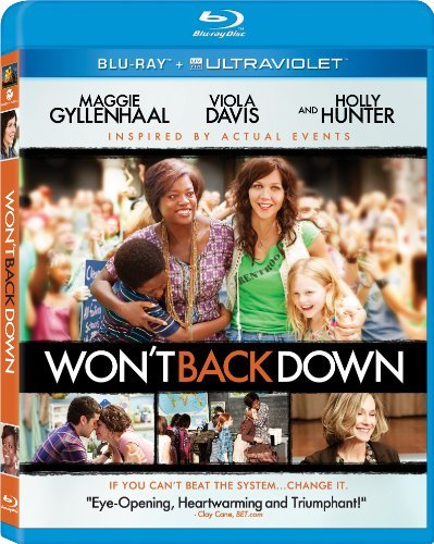 Won't Back Down Gyllenhaal Davis Hunter Perez Blu Ray Ws Pg Incl. Uv
