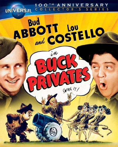 Buck Privates Abbott & Costello Blu Ray Ws 100th Anniv. Ed. Nr Incl. DVD