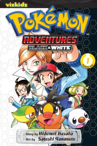 Hidenori Kusaka Pokemon Adventures Black And White Volume 1
