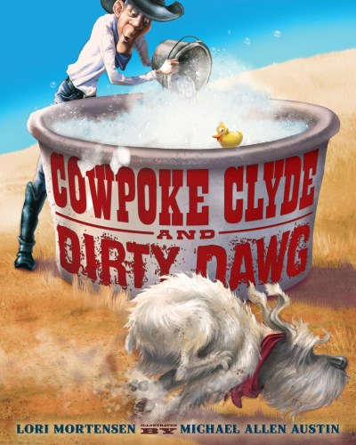 Lori Mortensen Cowpoke Clyde And Dirty Dawg