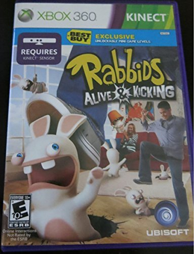 Xbox 360 Kinect Raving Rabbids Alive & Kicking