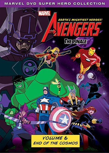 Avengers Earth's Mightiest Heroes Volume 6 DVD Tvy7