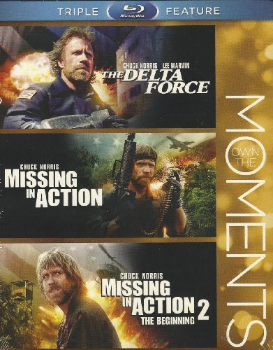 Chuck Triple Feature Norris Missing In Action Missing In Action2 Delta Force