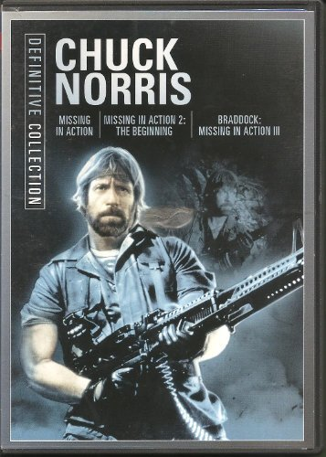 Norris Chuck Triple Feature Missing In Action 1 3