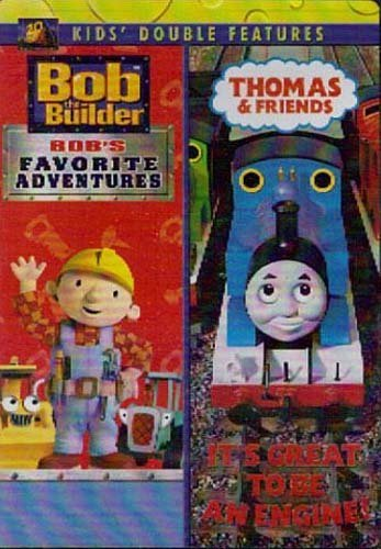 Bob The Builder Thomas & Friends Bob's Favorite Adventures It's Great To Be An Engi