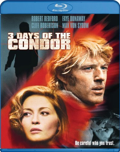3 Days Of The Condor Redford Dunaway Robertson Blu Ray Ws R