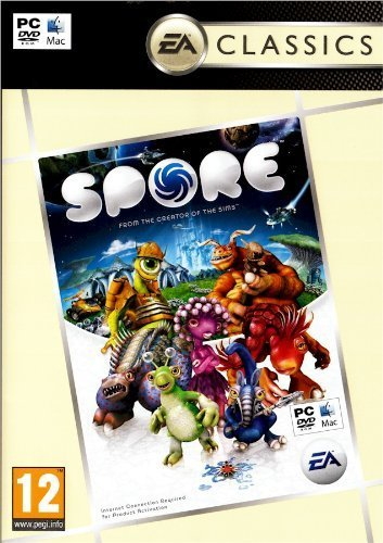 Pc Games Spore (compatible With Both Pc Electronic Arts E10+