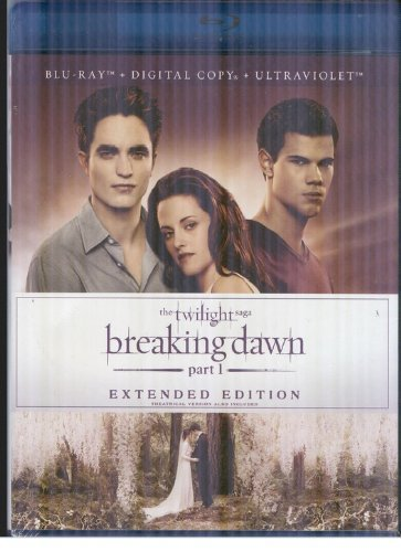 Twilight Saga Breaking Dawn P Pattinson Stewart Lautner Blu Ray Ws Extended Ed. Pg13 Incl. Dc Uv