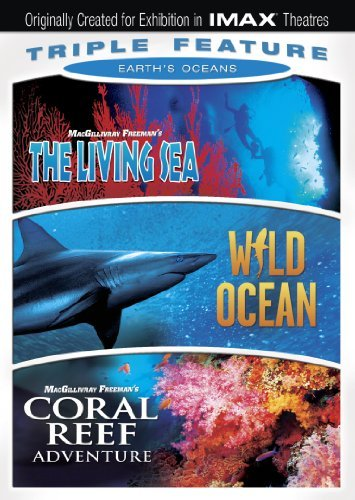 Earth's Oceans Triple Feature Imax Ws Nr 3 DVD