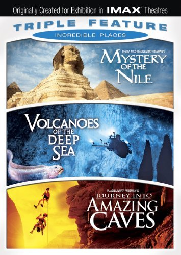 Incredible Places Triple Feature Imax Ws Nr 3 DVD