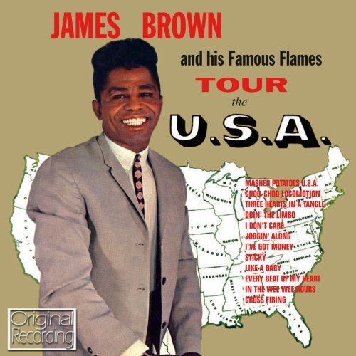 James Brown Tour Of U.S.A. Import Gbr