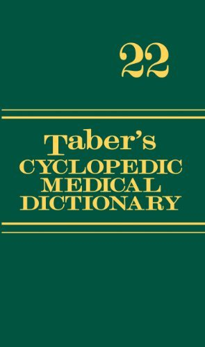 Donald Venes Taber's Cyclopedic Medical Dictionary With Access 0022 Edition;